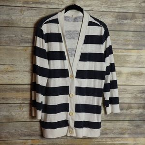 J. Crew Cardigan Blazer Size L Cotton used